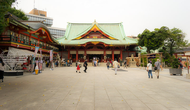 The Kanda shrine.